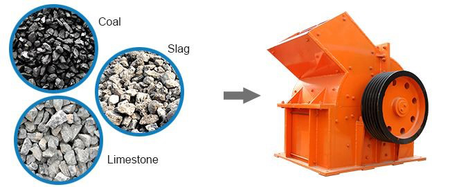 coal crusher material