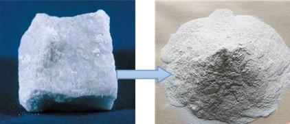 gypsum raw material