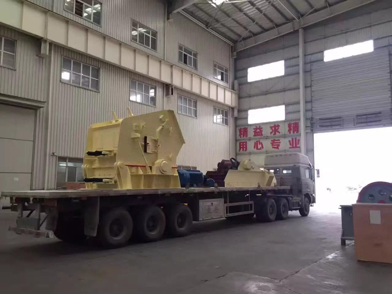 impact crusher shipment