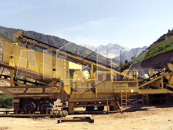 portable crusher plant