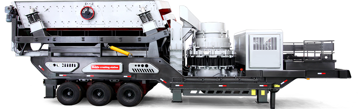 Mobile Crushing Plant and Screening Plant - Large Capacity - Easy Movement