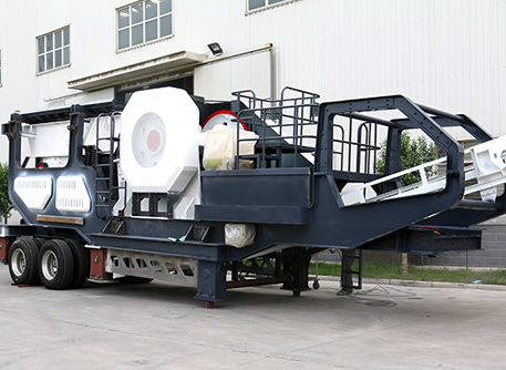 jaw crushing wheel type plant